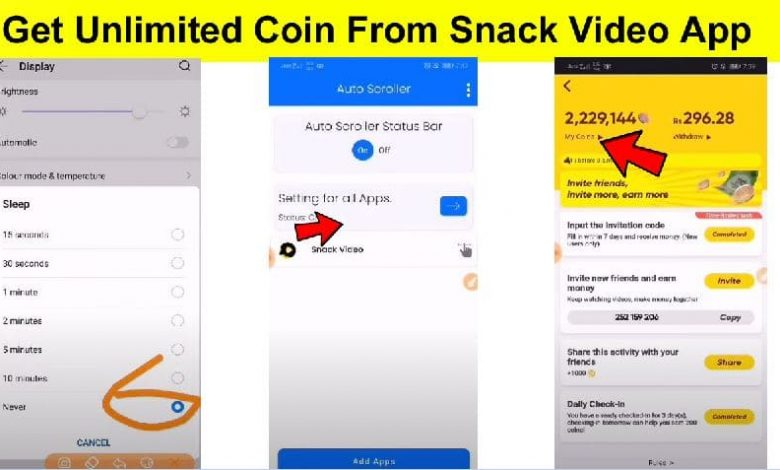 Snack Video App