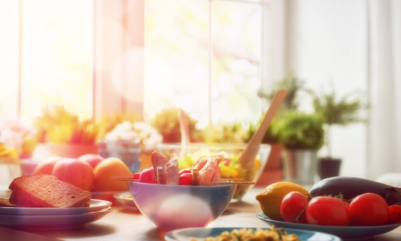 Connect Between Food and Healthy Lifestyle