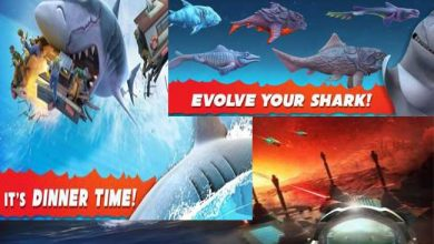 play Hungry Shark Evolution mod apk by unlimited coins